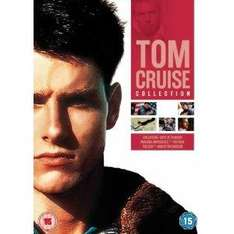 Tom Cruise Collection - Collateral / Days of Thunde r/ Top Gun / Mission Impossible / War of The Worlds / The Firm (DVD) - £7.49 @ Amazon