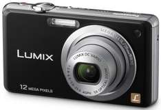 Panasonic Lumix FS10 - Digital Camera (Black) (Silver) - £72.95 Delivered @ Very