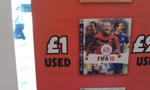 FIFA 10 (PS3) (Pre-owned) - £1 @ Grainger Games (Instore)