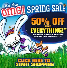 Telltale Games 50% Spring Sale
