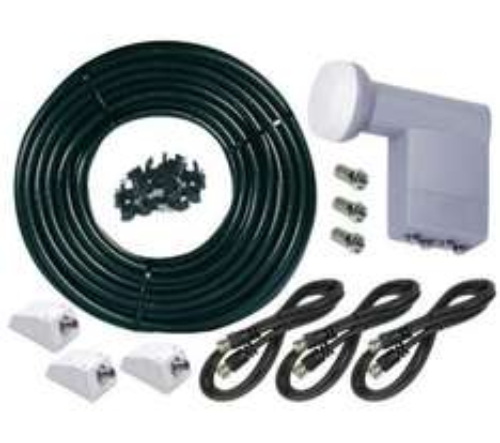 Philex SLx 28224R Freesat Extension Kit - 4 TVs - £16.97 @ PC World