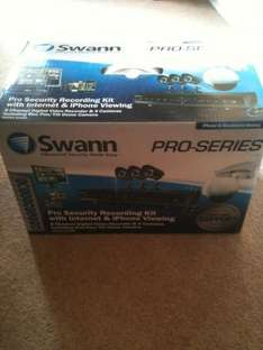 CCTV Kit By Swann - 4 x Camera (1x pt dome),500GB dvr, iPhone View - £395 @ Costco