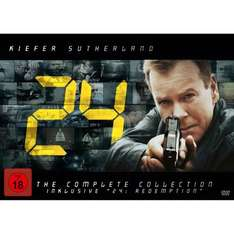 24: Season 1-8 and Redemption (DVD) - £83.82 @ Amazon Germany