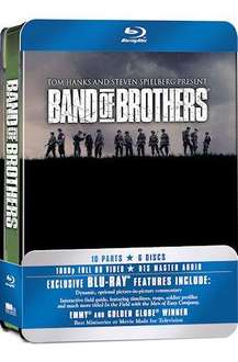 Band of Brothers: Complete HBO Series (Commemorative 6-Disc Gift Set In Tin Box) (Blu-ray) - £14.95 Delivered @ Base + 4% Quidco