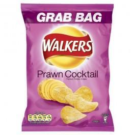 Walkers Prawn Cocktail : 6 for £1 or 19p each (grab bags) at B&M Bargains
