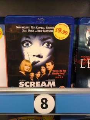 Scream (Blu-ray) - £9.99 @ Morrisons