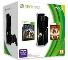 EXPIRED. Xbox 360 Console: 250GB Bundle with Fable III & Halo: Reach - Only £169 @ Dixons