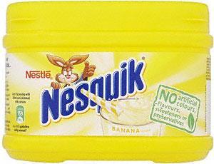 Nestle Nesquik Banana, Chocolate & Strawberry (300g) £1 at Asda and Tesco
