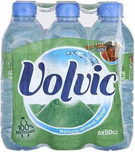 Volvic Still Natural Mineral Water 6 Bottles (6 x 500ml) £1.50 at Asda