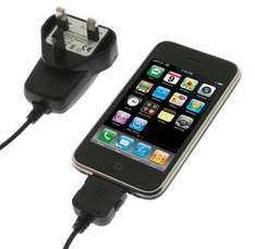 Mains Charger For Apple iPad, iPod, iPhone, iTouch - £1.99 @ 7dayshop