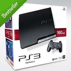 PS3 Slim Console: 160GB - £199.97 @ Asda Direct