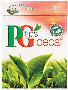 PG Tips Pyramid Decaffeniated (160 per pack - 500g) £3 at Tesco