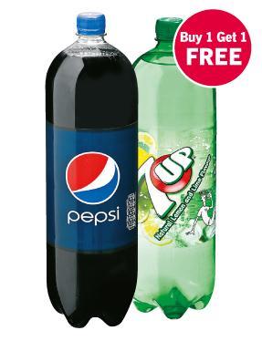 LIDL Pepsi & 7UP BOGOF £1.66 for 2 x 2 litres