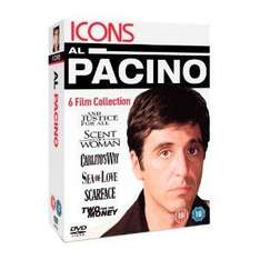 Al Pacino: And Justice For All / Scent of A Woman / Carlito's Way / Sea of Love / Scarface / Two For The Money (DVD) - £9.97 @ Amazon