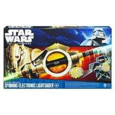 Star Wars General Grievous Spinning Electronic Lightsaber - £19.52 Delivered @ Amazon