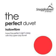 Snuggledown kingsize 12 tog duvet was £80 now £21.60 @ Debenhams , free delivery/ returns.( other sizes available )