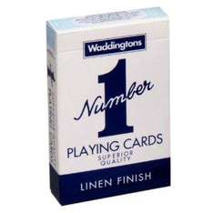 "Waddingtons ""Number 1"" Playing Cards £0.89 delivered @ Amazon"
