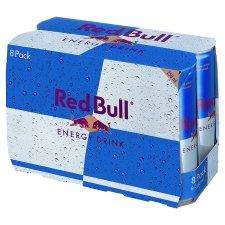 8 Cans of Red Bull - £5.00 at Tesco
