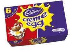 6 X Creme Eggs for a pound @ iceland