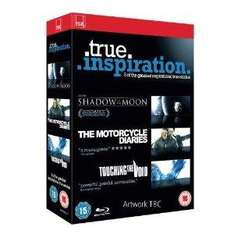 True Inspiration Collection: Shadow of The Moon / Motorcycle Diaries / Touching The Void (Blu-ray) (3 Disc) - £9.99 @ Amazon