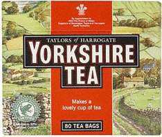 Yorkshire Tea Teabags 160 for the price of 80 £2.28 @ Tesco