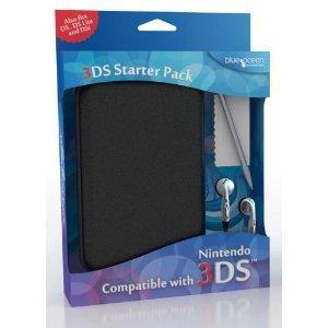 Blue Ocean Nintendo 3DS Starter Pack (Black) - £2.80 @ Amazon
