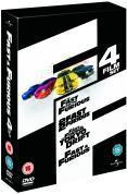 Fast & Furious 1-4 Box Set (DVD) (4 Disc) - £13.99 @ Amazon & Play