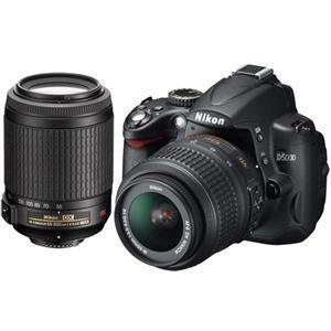 Nikon D5000 18-55 and 55-200mm VR Twin Lens Kit - £499 @ Jessops