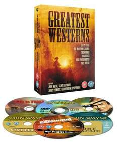 Greatest Ever Westerns Collection:  3.10 To Yuma / The Man From Laramie / High Plains Drifter / Shenandoah / Fort Apache (DVD) (6 Disc) - £9.97 Delivered @ Amazon