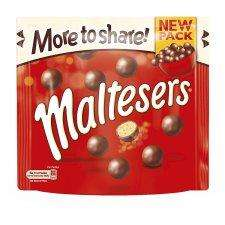 Maltesers Large Pouch 230G/ Minstrels Large Pouch 290G/Revels Large Pouch 240G/ £1.29 @ Tesco