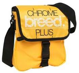 Breed Mens Chrome Plus Side Bag Yellow or Blue - £3 @ MandMDirect