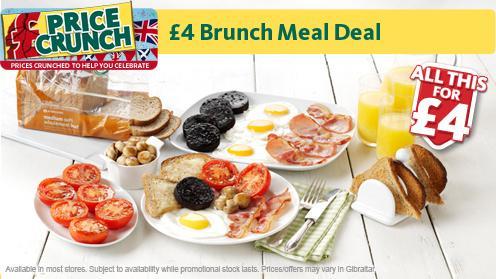 £4 Brunch Meal Deal @ Morrisons