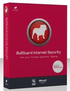 BullGuard Internet Security version 9.0, 1 year subscription, 3 user license, 5GB online Backup - was £39.99 now £8.32 @ Ebuyer