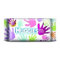 Huggies Everyday Baby Wipes - 12 Packs x 64 Wipes (768 Wipes) £8.00 delivered at Amazon
