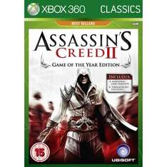 Assassin's Creed II GOTY Edition (Classics) (Xbox 360) - Only £9.91 @ Amazon
