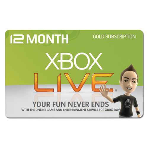 Xbox Live 12 Months Gold Subscription - £29.99 @ Morrisons