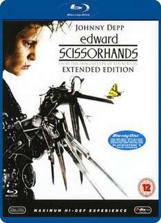 Edward Scissorhands (Blu-ray) (Pre-owned) - £4.98 @ Game