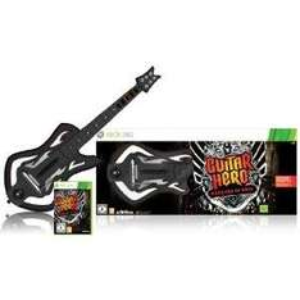 Guitar Hero 6: Warriors of Rock Guitar Bundle (Xbox 360) - £30 @ Amazon