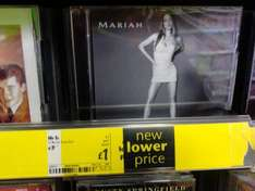 Mariah Carey: No.1's (CD) - £1 @ Asda (Instore)