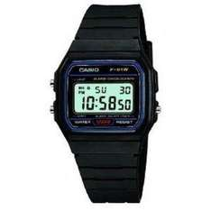 Casio F-91W-1XY Mens Resin Digital Watch - £7.90 @ Amazon
