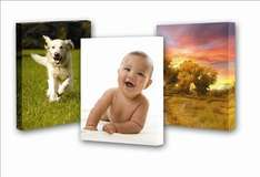 Your Photo Printed on 12 inch x 16 inch Canvas for £14.95 Delivered (Usually £40.90)