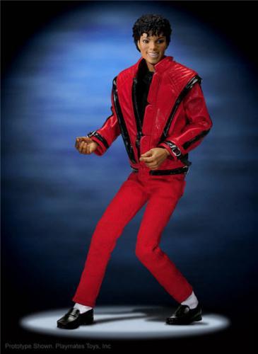 Michael Jackson: 10 Inch Thriller Figure - £14.99 @ Play