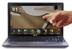 """Acer Aspire Laptop 5745PG I3 Touch Screen 320GB 15.6"""" nVIDIA GeForce GT 310M 512MB - £499 @ Argos"""