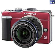 Olympus PEN E-PL1 Micro Four Thirds Digital Camera with 14-42mm Lens - £284.99 (with code) @ Currys