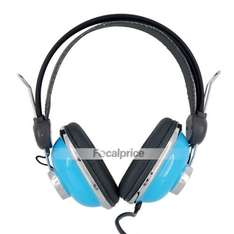 Retro Trendy Kanen KM-740 Stereo Headphones (Blue) - Only £7.80 Delivered @ Focal Price