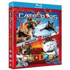 Cats & Dogs 1&2 (Triple Play Blu+DVD+Digital Copy) £8.99 @ HMV
