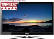Samsung LE40C750 40'' 3D Ready LCD Television with 1 Pair of 3D Glasses - £594.99 inc delivery - electricshop.com (+2% quidco)