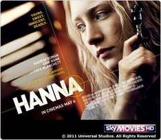 Free Screening of Hanna - Tuesday 3rd May 6.30pm - Sky Movies Customers Only @ Sky Digital