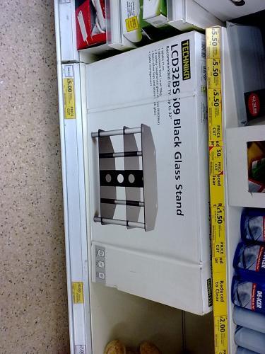 "Technika LCD32BSS09 - 32"" Black TV Stand - £5 @ Tesco (Instore)"