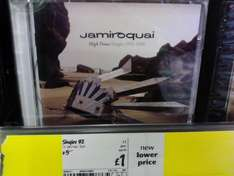 Jamiroquai: High Times: The Singles 1992-2006 (CD) - £1 @ Asda (Instore)